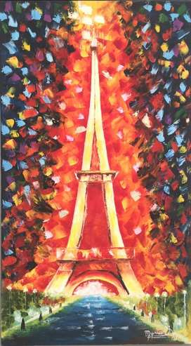 Cuadro pintura París