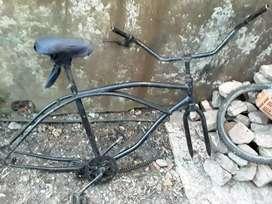 Cuadro de playera rod 26 sin ruedas