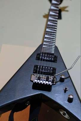 guitarra electrica jackson king v kvx10 japón 1999