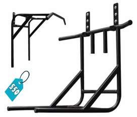 Soporte de pared para ejercicios en casa