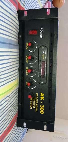 Amplificador de audio ak 300