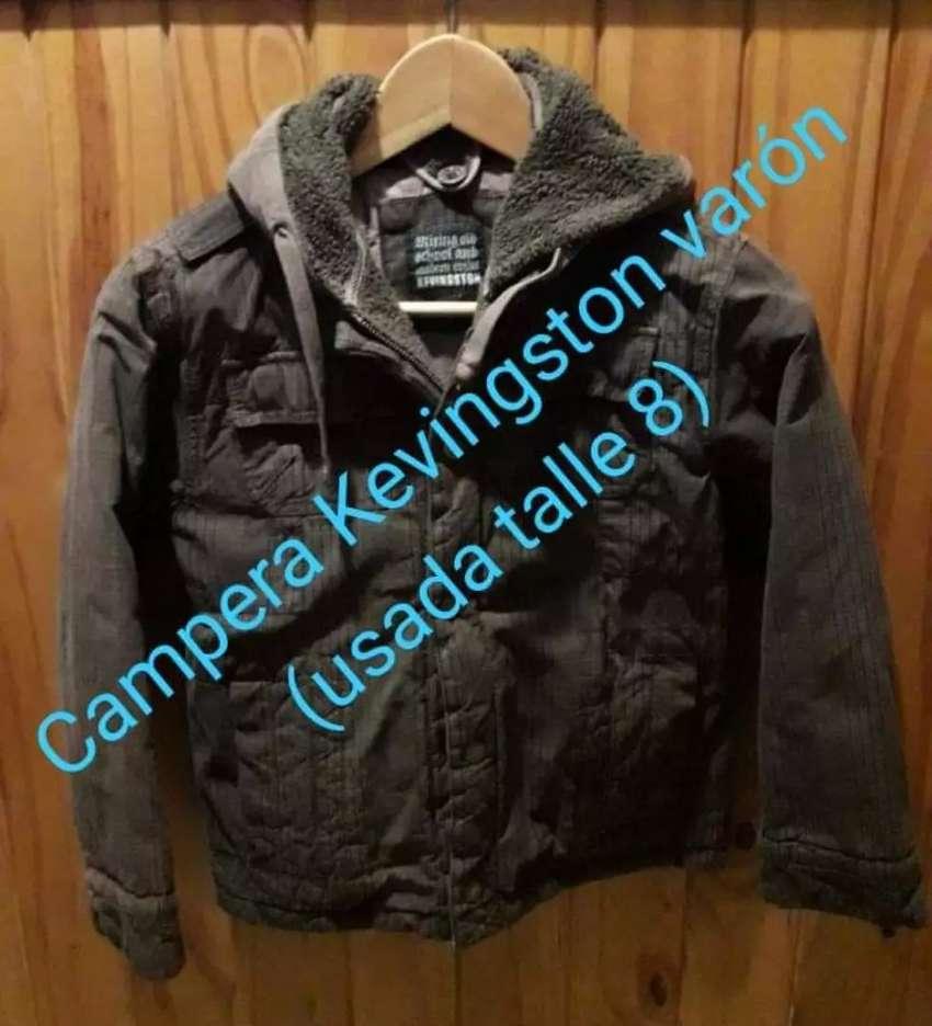 Campera abrigo Kevingston Niño Usada 0