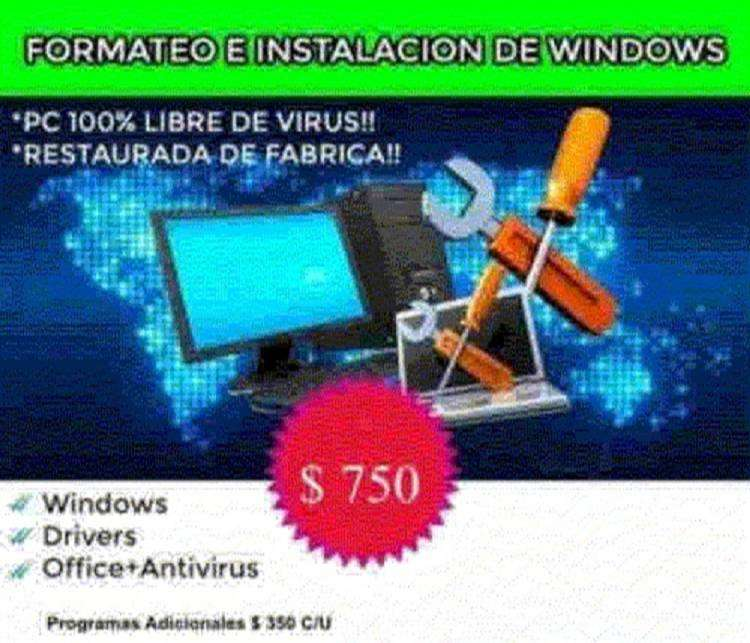 Formateo E Instalación Windows 7/10 Para Pc De Bajo Recurso 0