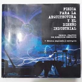 Fisica para la arquitectura y el diseño industrial, libro
