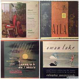 Mozart, Beethoven, Tchaikovsky y más. Colección de discos LP/vinilo clásicos