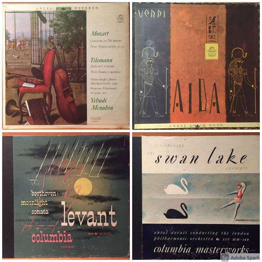 Mozart, Beethoven, Tchaikovsky y más. Colección de discos LP/vinilo de música clásica