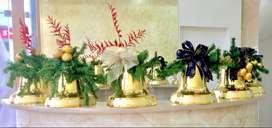 Campanas navideñas - Decoración Navidad