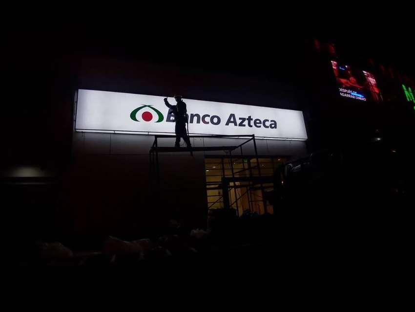 LETRERO LUMINOSO HUACHO 0