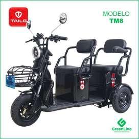 GreenLine Trimoto Eléctrica de Paseo TAILG TM8