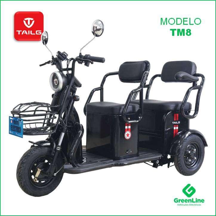 GreenLine Trimoto Eléctrica de Paseo TAILG TM8 0