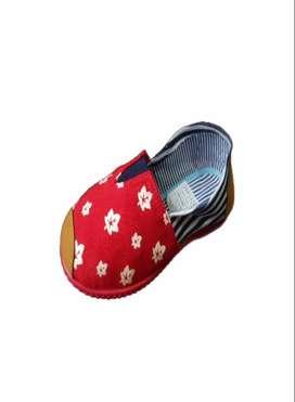 zapatillas suela roja con hojas de otoño con envio gratuito
