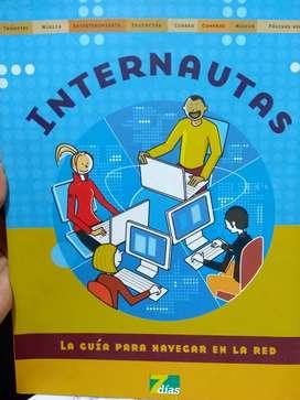 Libro Internautas guía para navegar en la red