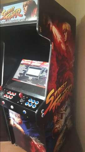 Arcade multijuegos y flipers.