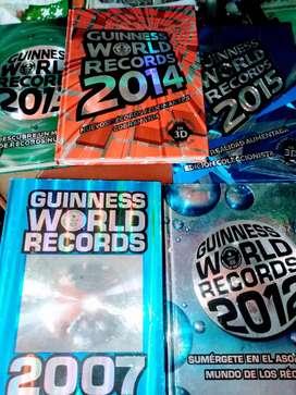 Colección de Libros de GUINNESS WORLD RECORDS