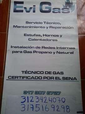Evigas Tecnico D Gas