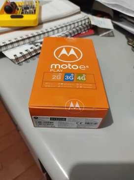 Moto e 6 nuevo