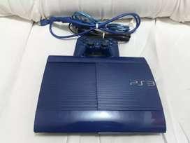 Play 3 super Slim 250gb edición especial azul