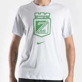 Camiseta T-shirt Inmortal Gris Nike Nacional Original