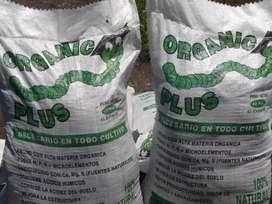 Abono Orgánico Sacos 40 Kg.