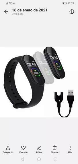 Reloj digital smart band M4 compatible iphone/android