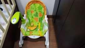 Mecedora vibradora para bebe