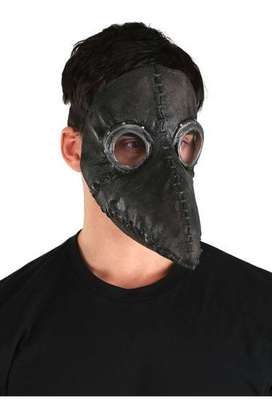 Mascaras de doctor plaga (la peste)