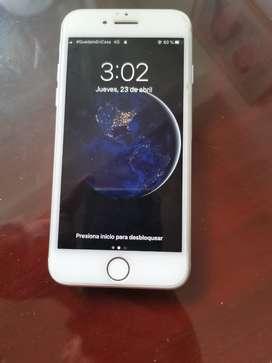 Vendo cambio iphone7 entrego caja cargador libre d cuenta
