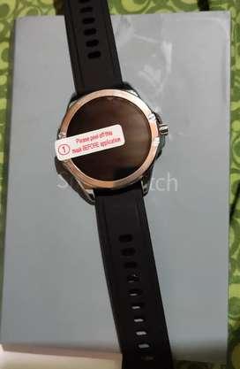 Smartwatch S21 táctil sumergible notificaciónes de apps alerta de llamadas ritmo cardíaco
