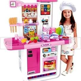 kitchen.cocina para niñas con agua luces sonido WhatsApp 312*735*5304