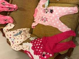 Ropa de marca nueva para nena de 3 ,6, 9,12 meses