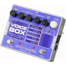 Pedal para voz - vocal voicebox ehx - negociable