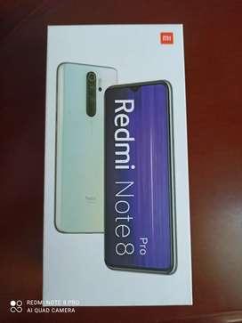 Vendo Xiaomi redmi note 8 pro 128gb 6 ram