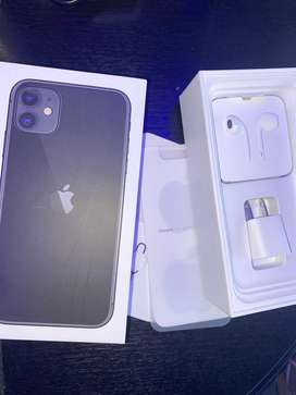 Iphone 11 negro 256gb con caja