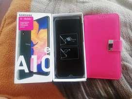 Samsung A10e desbloqueado y nuevo