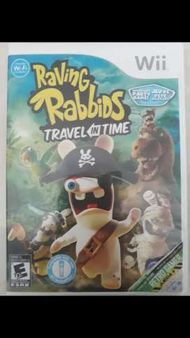 Juego Raving Rabbids Travel in the Time para Wii