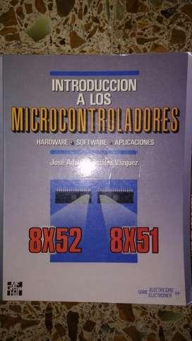 Introducción a los microcontroladores 8X52 8X51