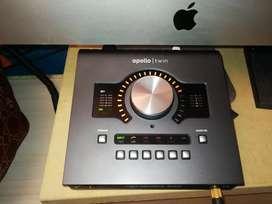Kit de grabación pro para YouTube o Música. Apollo Twin + monitores + micro deity s mic 2