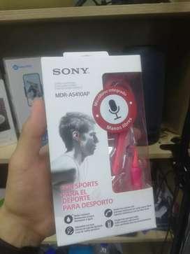 Audífonos SONY MDR-AS410AP NUEVOS