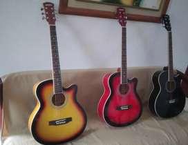 Guitarra acústica nueva profe