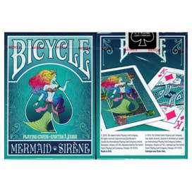 Baraja De Cartas Bicycle Sirena. Original. Por Banimported