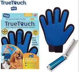 guantes para sacar el pelo muerto de su mascota