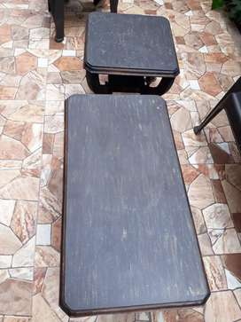 Mesa de sala en madera