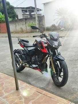 Vendo moto Apache 200