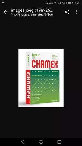 RESMAS CHAMEX A4 75 GRS