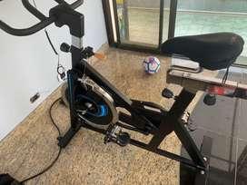 VENDIDA Bicicleta spinning estatica sportfitness