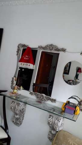 Vendo Espejo de Lujo Oboara Peluquería E