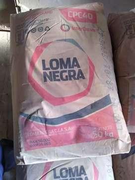 Cemento Loma Negra de 50 kilos