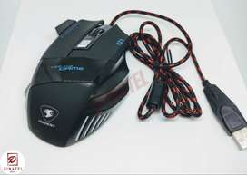MOUSE USB GAMMER 7 BOTONES