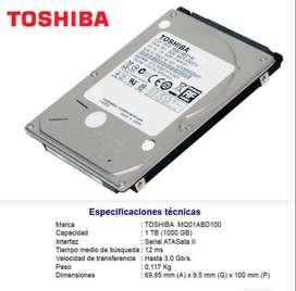 Disco Toshiba 1tb nuevo para portatil o ps3