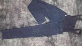 Jeans con tiradores